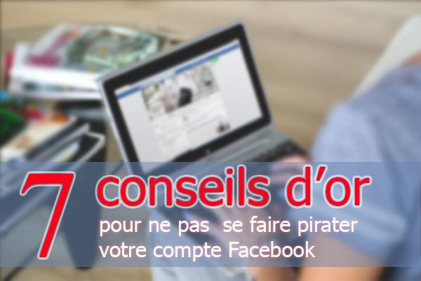 protéger et sécuriser son compte Facebook