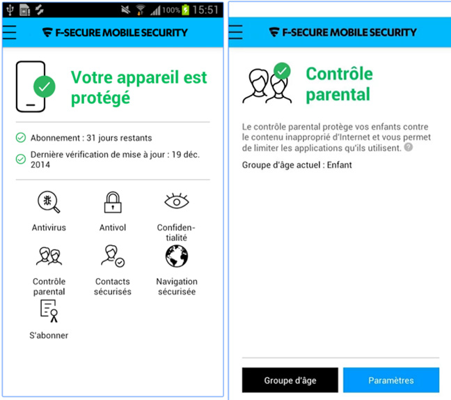 comment activer controle parental android