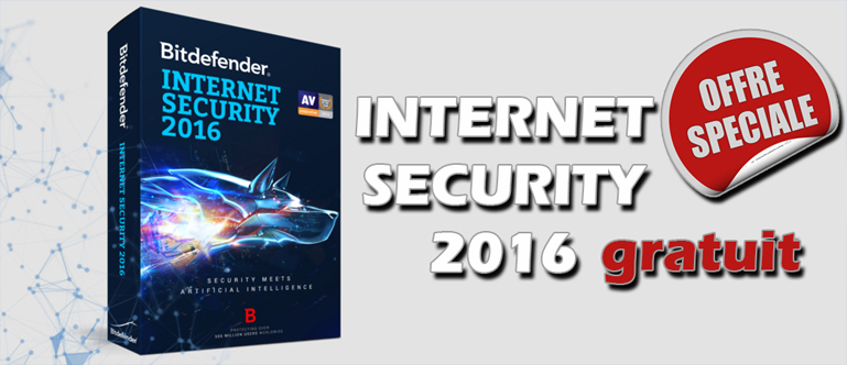 télécharger Bitdefender-Internet Security 2016 gratuitement