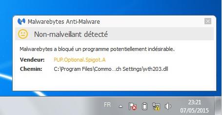 Malwarebytes <b>Anti</b>-<b>Malware</b> - Télécharger <b>gratuit</b>…