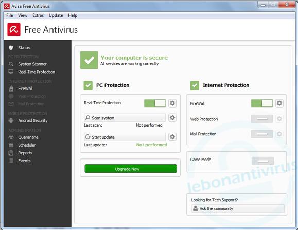 avira antivirus gratuit 2016