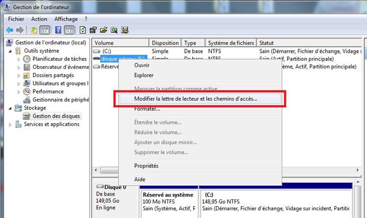 Comment r parer un disque dur externe non reconnu - Reparer table de partition disque dur ...