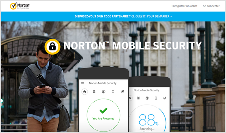 norton mobile security iphone lba le meilleur antivirus 2018. Black Bedroom Furniture Sets. Home Design Ideas