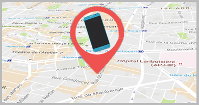 app android localiser telephone