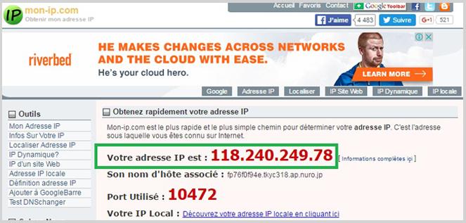 Comment changer son adresse ip et pourquoi lba for Changement d adresse sur internet