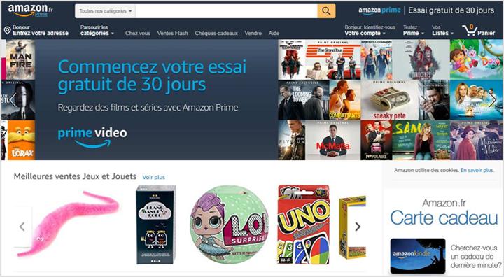 ece1846f8648d C est le site de vente   achat en ligne le plus populaire dans le monde  entier et pas seulement en France. Il a commencé en tant que librairie en  ligne