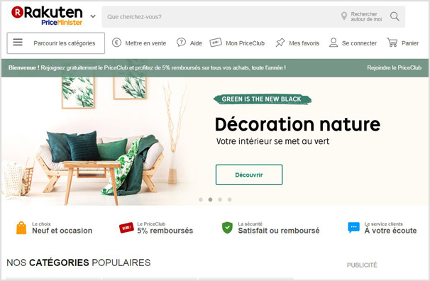 les 7 meilleurs sites de vente en ligne populaires en. Black Bedroom Furniture Sets. Home Design Ideas
