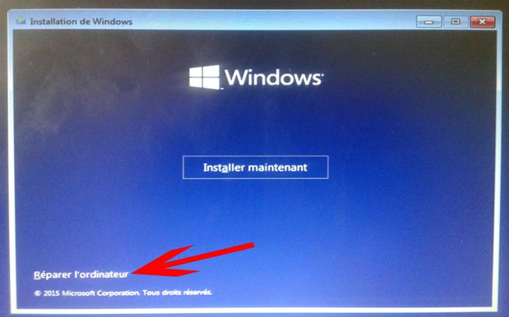 D Ef Bf Bdmarrer Ordinateur Restauration Windows