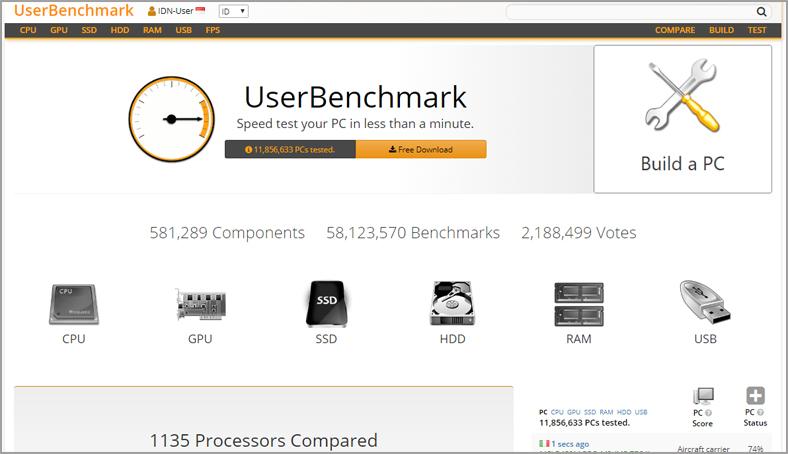 7 logiciels pour tester la performance de son PC - LBA