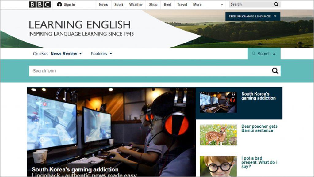 BBC Learning English meilleurs sites pour apprendre l'anglais gratuitement