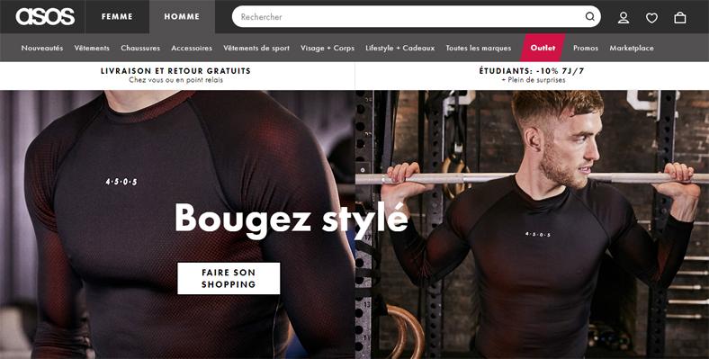 couleur rapide coupon de réduction styles classiques Les 8 meilleurs sites de vêtements hommes (pas cher) - LBA