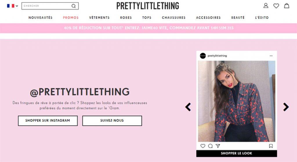 7dbdcde051d4 PrettyLittleThing est un magasin de vêtements en ligne destiné aux femmes  qui aiment le style unique et la tendance de mode.