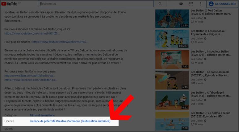 Comment savoir si une vidéo Youtube est libre de droit ?