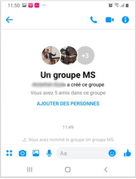 Comment créer un groupe de discussion sur Messenger ?