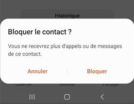Comment bloquer un numéro sur Samsung A50