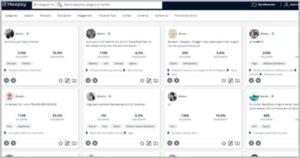 outils pour trouver des influenceurs sur Instagram, Facebook, Youtube et Twitter