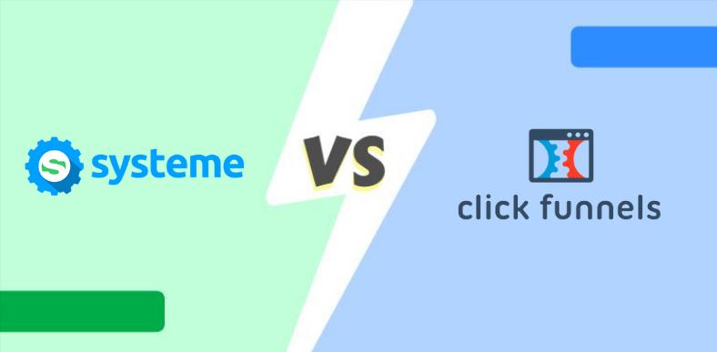 Systeme.io vs ClickFunnels : lequel devez-vous utiliser ?